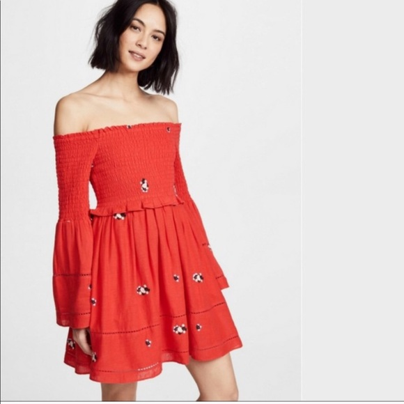 2c837f7361106 FREE PEOPLE COUNTING DAISIES DRESS (NWT)